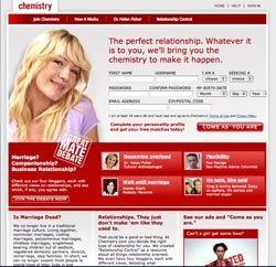 Chemistry.com Matchmaking Online Dating Service